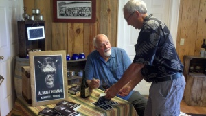 Book signing at Del Rio, Gold Hill, Oregon